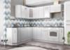 Модульный кухонный гарнитур «Вита» 2400/1800 (белый), ЛДСП/МДФ, ДСВ-Мебель