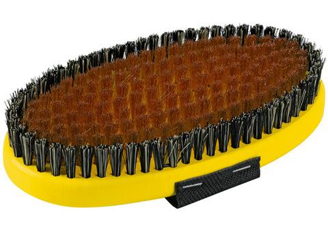 Картинка щетка Toko ручная, овальная, медная 17 мм