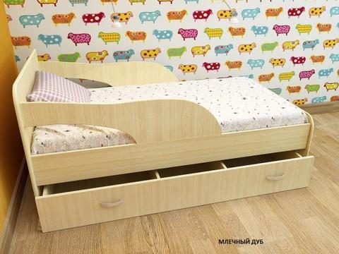 Кровать Максимка млечный дуб