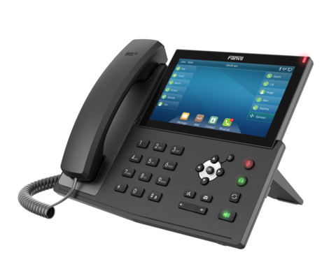 Fanvil X7 - Business SIP Phone (POE) - IP телефон, 20 SIP линий, (1GbE) Gigabit Ethernet, цветной LCD, 127 virtual DSS/BLF, Bluetooth, USB, Wi-Fi