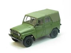 UAZ-469B green 1:43 Nash Avtoprom