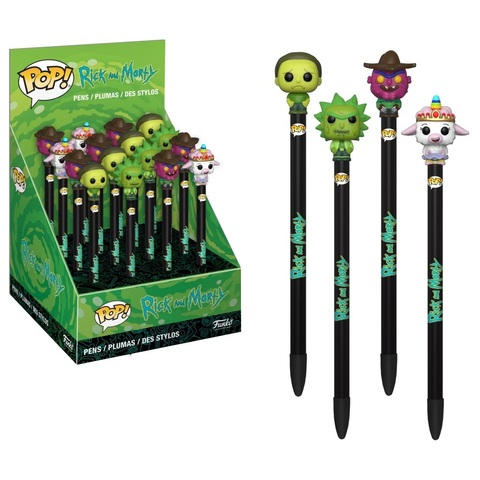 Ручка Funko POP! Pen Toppers: Rick & Morty S2