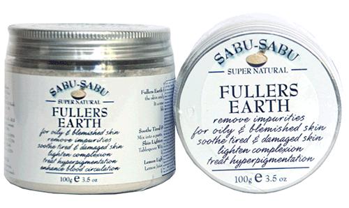 Натуральная маска из фулеровой земли для проблемной и жирной кожи, Sabu-Sabu
