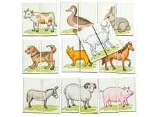 Картинки-половинки Ферма, Смайл Декор