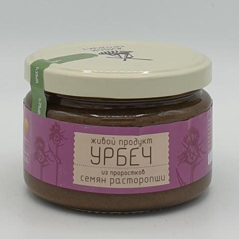 Урбеч из проростков семян расторопши ЖИВОЙ ПРОДУКТ, 225 гр