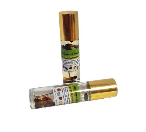 Масляный бальзам-ингалятор с экстрактом мангостина  Масляный бальзам-ингалятор