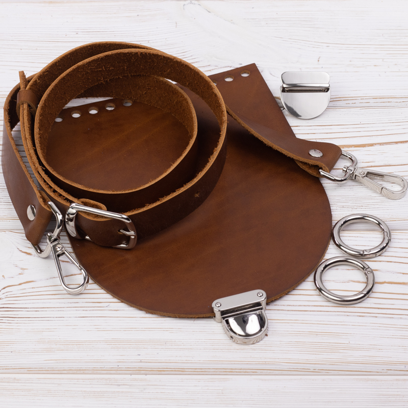 "Комплект для сумочки ""Орео"" Комплект для сумочки Орео ""Хурма"" N2 IMG_7105.jpg"