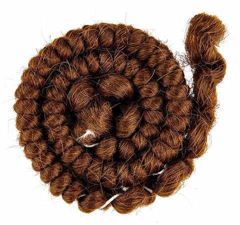 MEHRON Креповые волосы Crepe Hair, Light Brown (Русые)