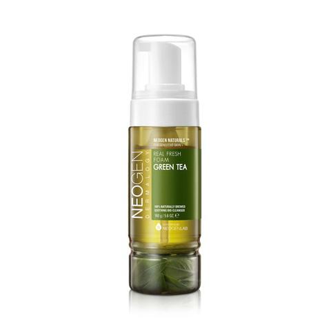 Очищающая Пенка NEOGEN Real Fresh Foam Greentea 160g