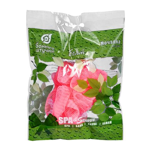 Мочалка для душа «Бант», малый (5 цветов)