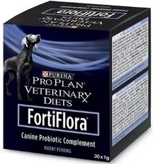Пребиотическая добавка для собак, Purina Pro Plan Veterinary Diets FortiFlora, для поддержания баланса микрофлоры и здоровья кишечника