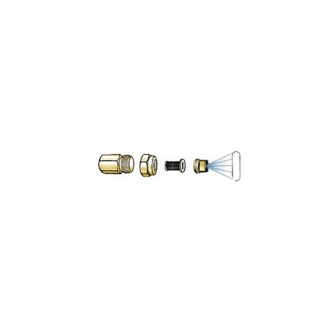 MESTO Форсунка 1431М, латунный корпус, сопло латунь 0,067