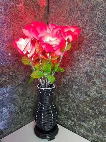 Светящиеся роза 50 см.