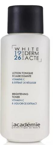 Academie White Derm Lotion Tonique Éclaircissante Acte Brightening Toner