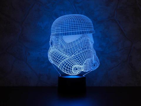 3D ночник Штурмовик клонов
