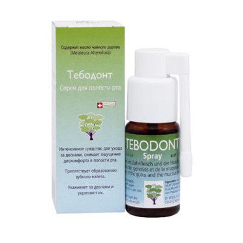 Спрей для полости рта Тебодонт Tebodont Dr.Wild, 25 мл