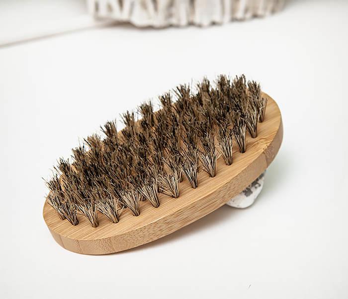 RAZ496 Деревянная щетка для бороды «Kurt» (размер L) фото 05