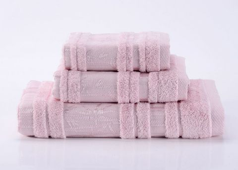 Bamboo CL-1  нежно-розовое бамбуковое махровое  полотенце Valtery