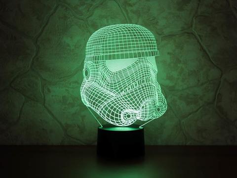 3D светильник Штурмовик клонов