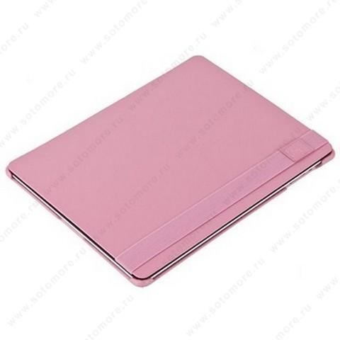 Чехол-книжка iCarer для Apple iPad 4/ 3/ 2 Colorful Series светло-розовый