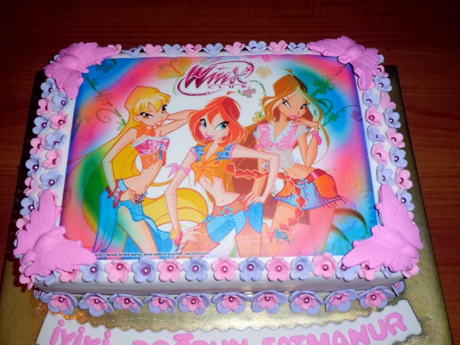 торт с днем рождения винкс картинки если хотите
