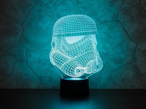 3D лампа Штурмовик клонов