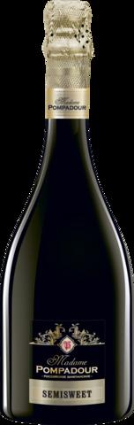 Игристое вино полусладкое белое
