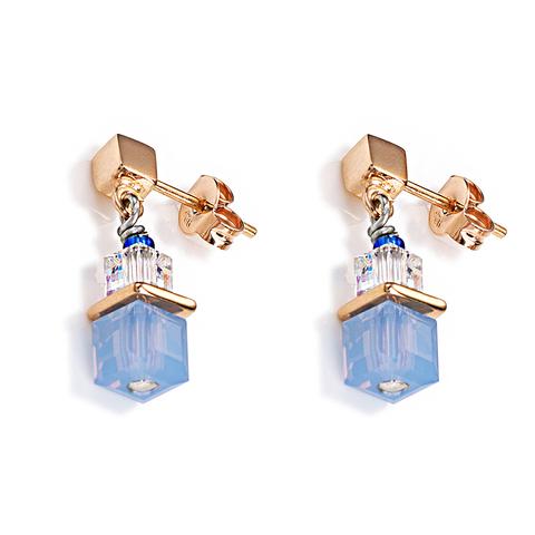 Серьги Coeur de Lion 4734/21-0700 цвет голубой, прозрачный