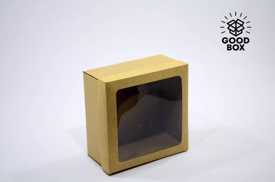 Купить коробку с окошком в Алматы