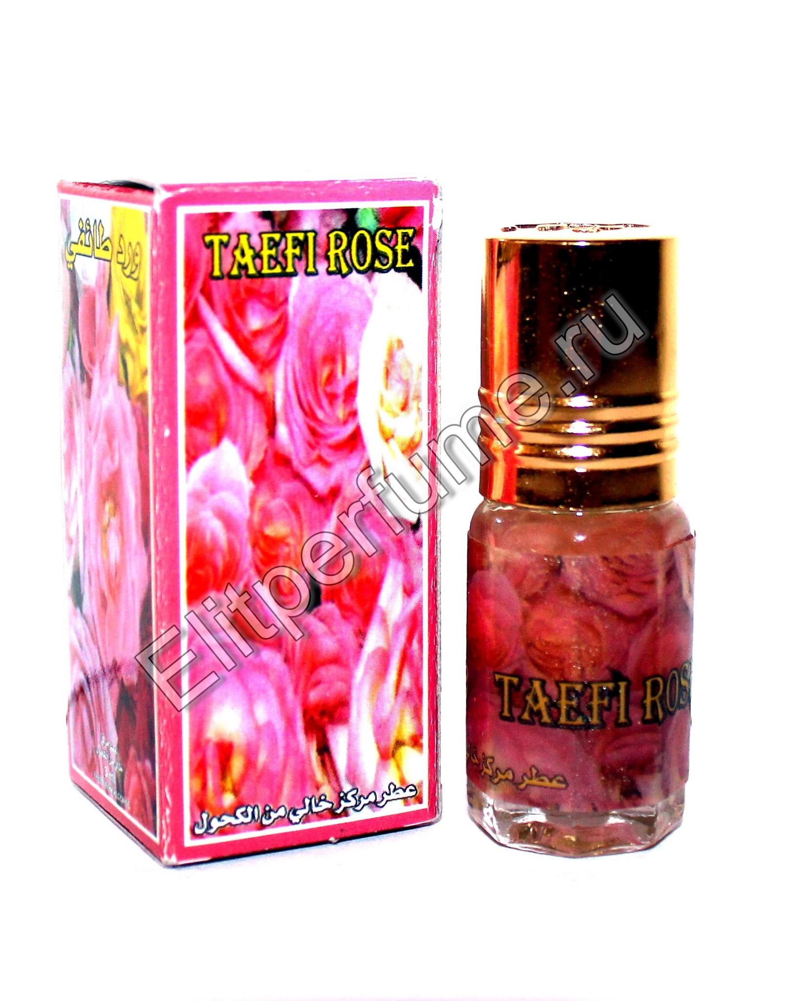 Taefi Rose Роза Таифи 3 мл арабские масляные духи от Захра Zahra Perfumes