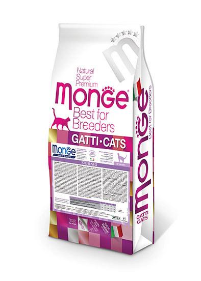 Купить Monge Cat Sterilised корм для стерилизованных кошек 10 кг