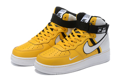 Nike Air Force 1 07 LV8 High 'Yellow/White'