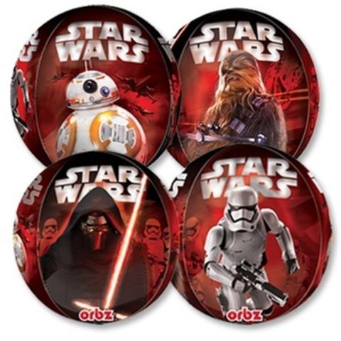 Фольгированный шар Сфера Звездные войны 7