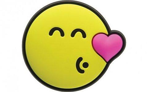 Jibbitz Smiley Brand Kissing Smiley