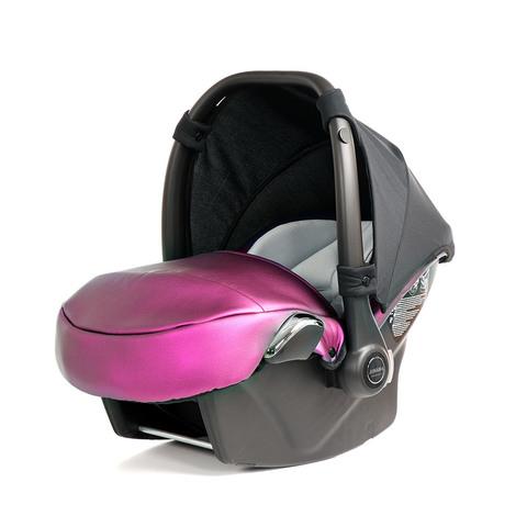 Детское автокресло Junama Fluo розовое