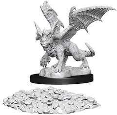 D&D Nolzur's Marvelous Miniatures - Blue Dragon Wyrmling