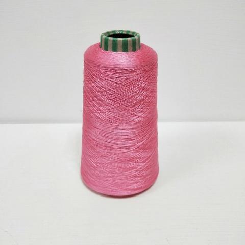 Шёлк 100%, Яркий розовый, 3000 м в 100 г