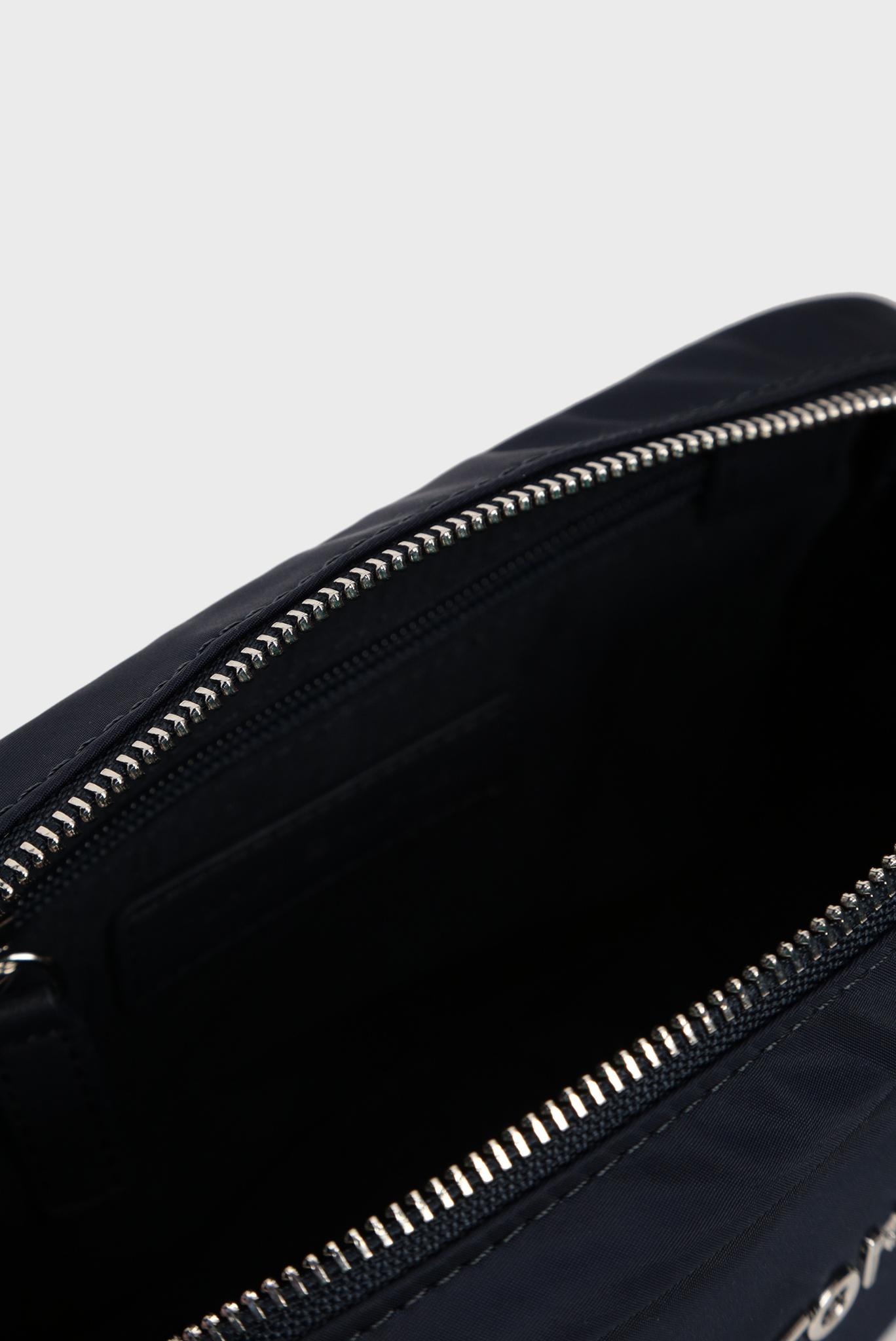 Женская темно-синяя сумка через плечо TH NYLON Tommy Hilfiger