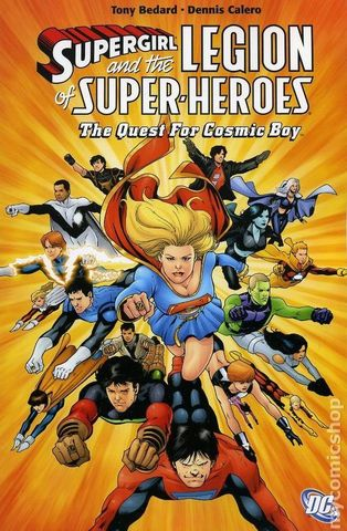 Supergirl and the Legion of Super-Heroes: The Quest for Cosmic Boy TPB