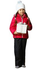 Детский утеплённый прогулочный лыжный костюм Nordski Active Raspberry