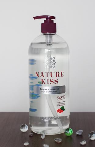 Liv delano Nature Kiss Гель-уход для душа Лен & Барбарис 1000мл