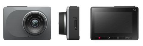 Видеорегистратор Yi Smart Dash Camera Youth Edition (с русским языком) + 64GB