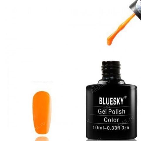 Гель-лак Блюскай  ярко оранжевый 10ml.