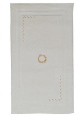 Коврик  махровый для ног 50х90 с вышивкой Шехзаде SEHZADE SOFT COTTON (Турция)