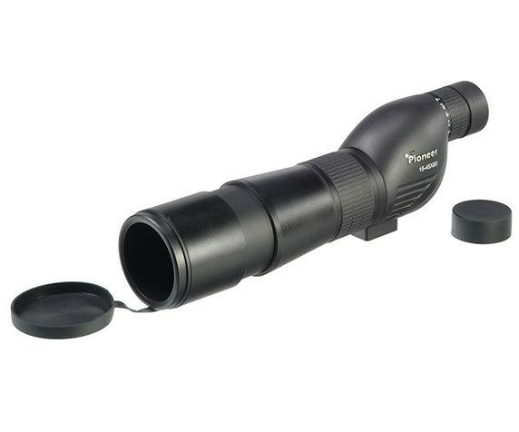 Защитные крышки окуляра и объектива трубы Veber Pioneer 15-45x 60