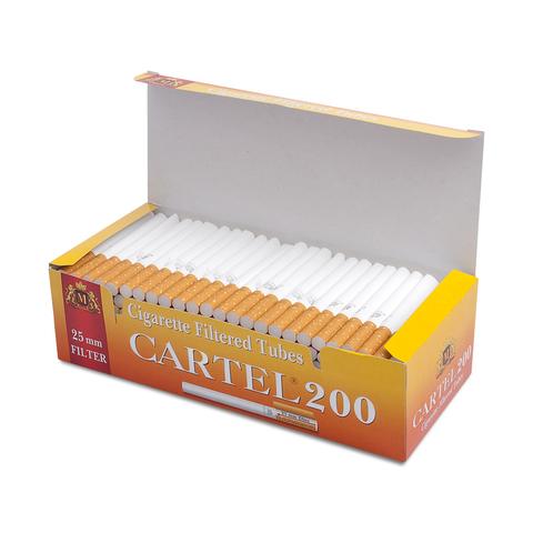 Гильзы для набивки сигарет Tubes CARTEL (25 mm)