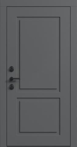 Входная дверь «NEO Classic 2» в цвете, Эмаль грэй