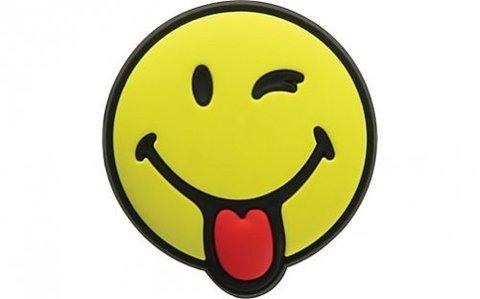 Jibbitz Smiley Brand Silly Smiley