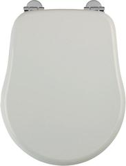 Сиденья для унитаза Migliore Bella ML.BLL-26.111.BI.CR с микролифтом, цвет белый, петли хром.