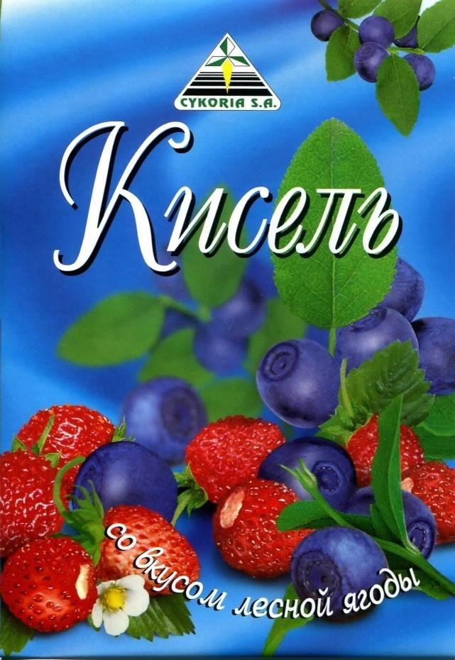 Кисель со вкусом лесной ягоды, 90 гр.